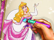 Sleepy Princess Coloring Book