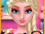 Elsa's Rainbow Style 1 Eye Makeup