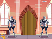 Castle With Knight Guards Escape