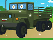 Army Trucks Hidden Letters