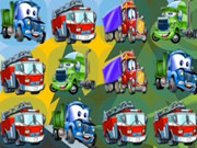Cartoon Trucks Match 3