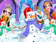 Princesses And Olaf's Winter Style