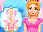 Princess Bridal Hairstyle
