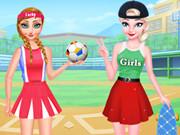 Frozen Sisters Sporty Style