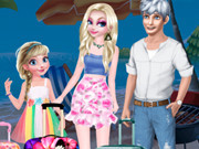 Frozen Family's Summer Holiday