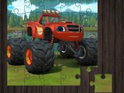 Blaze Monster Truck Jigsaw