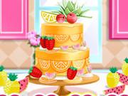Princesses Cooking Challenge: Cake