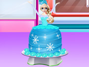 How To Make A Frozen Princess Cake