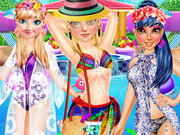 Princess Pool Party Fashion