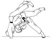Judo Coloring