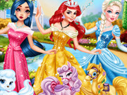 Celebrities Playing Princesses