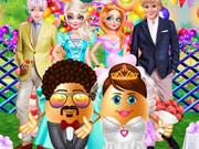 Mr. And Mrs. Easter Egg Wedding
