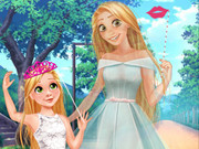 Princess Mom&daughter Cute Family Look