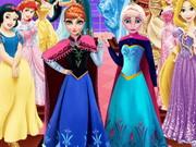 Frozen Sisters Wax Statue