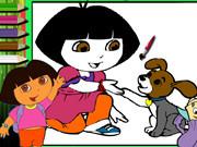 Dora Painting Game