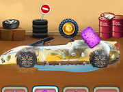 Princess Elsa Luxury Car Repair