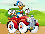 Donald Duck Car Keys
