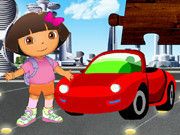 Dora And The Red Car