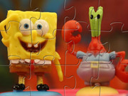 Spongebob And Eugene Krabs Puzzle