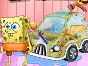 Spongebob Car Cleaning