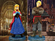 Princess Anna And Kristoff Puzzle