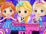 Chibi Princesses Rock'n'royals Style