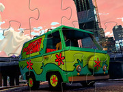 Mystery Machines Jigsaw