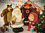 Masha And The Bear Christmas Eve
