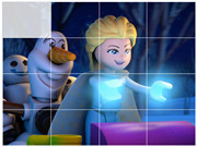 Lego Frozen Northen Lights Puzzle