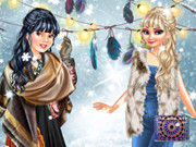 Boho Winter With Princesses