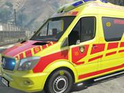 Ambulance Truck Hidden Tires