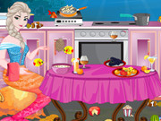 Elsa Underwater Kitchen Cleaning