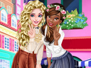 Tiana And Elsa Become Bffs