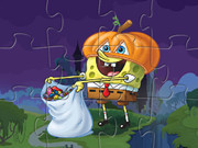 Spongebob Pumpkin Puzzle