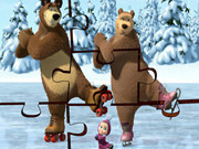 Masha And The Bear Ice Dance