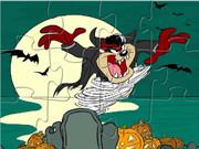 Taz Halloween Puzzle