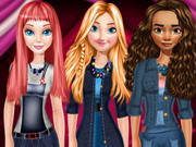 Princesses Denim Style Fashion