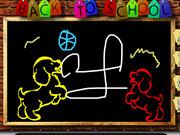 Drawing Chalk Board Fun