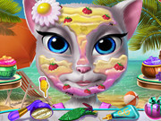 Kitty Beach Makeup
