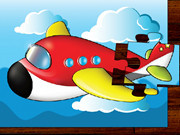 Cartoon Airplain Puzzle