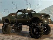Monster Sand Truck