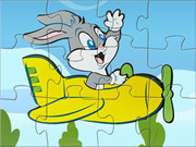 Bugs Bunny Flying Puzzle