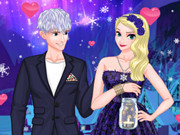 Disney Couple: Ice Princess Magic Date