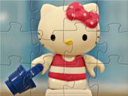 Cute Hello Kitty On The Beach