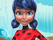 Save Frozen Ladybug