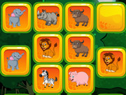 Animals Matching Games