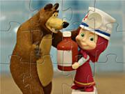 Masha And The Bear Play Doctor