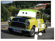 Mr Bean Classic Mini Car