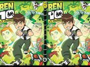 Ben10 Spot The Difference