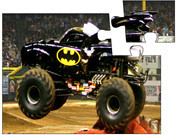 Batman Monster Truck Race